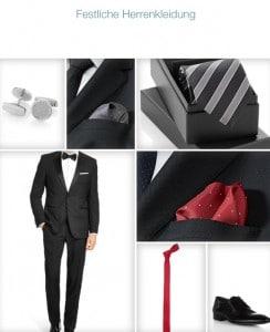 Festliche Kleidung-Herren