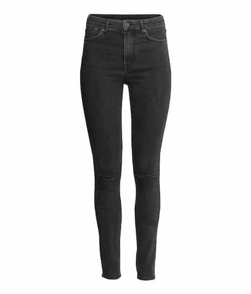 Jeans, Formsache, Po, High Waist, dunkel