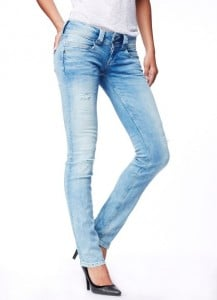 Jeans, Formsache, Po, Skinny Jeans, hell