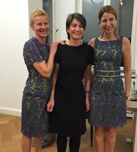 Damenmode, Businesskleidung Frauen, Helmkamp und Kallenborn, Modells