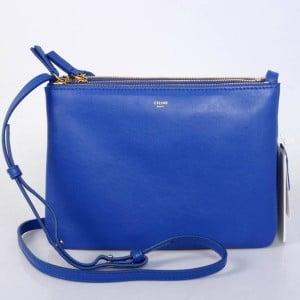 Designertasche, Celine blau