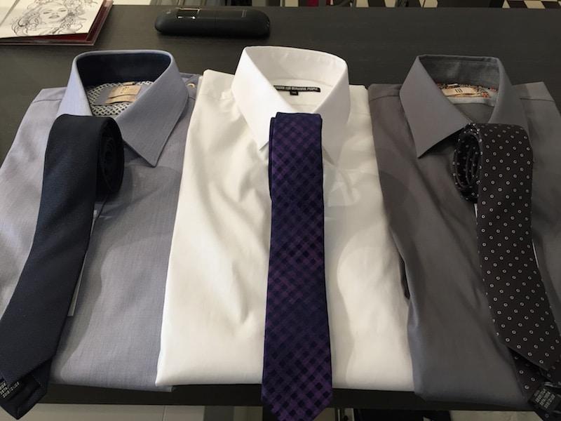 Businessmode, Hemd mit Krawatte