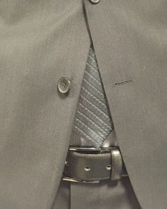 Sitz Businessanzug Länge Krawatte