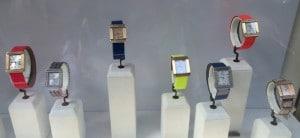 Bunte Uhren