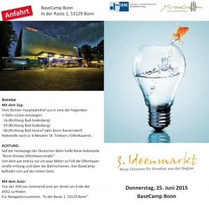 Event-Highlight 3.Ideenmarkt