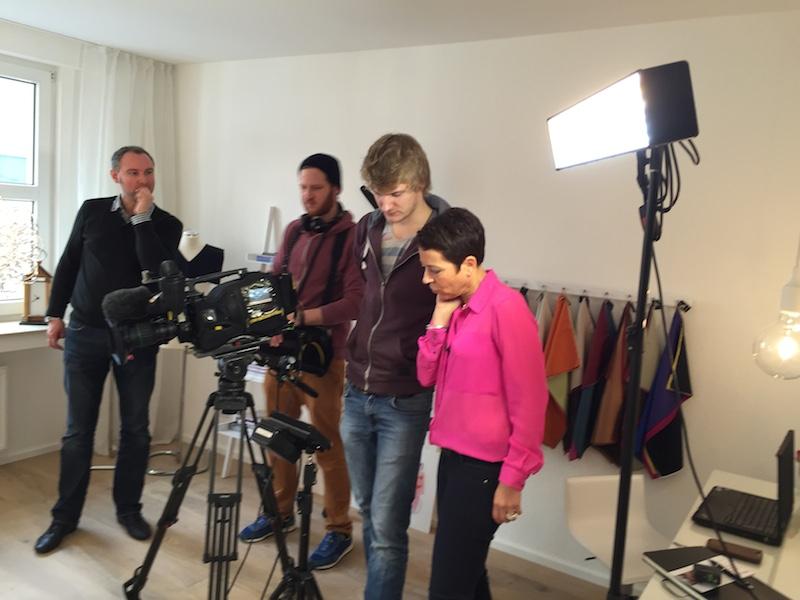 Event-Highlight NDR-TV-Aufnahmen in meinem Studio