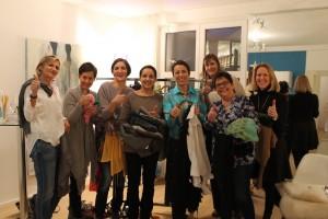 Kleidertauschparty - alle sind happy!
