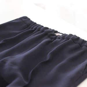 Hosenbund mit Gummizug von Blauen Hosenanzug