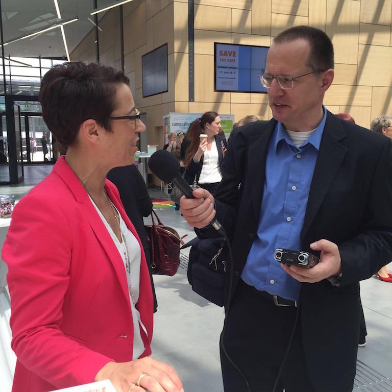 Radiointerview mit der Medienwerkstatt für Radio Bonn-Rhein-Sieg