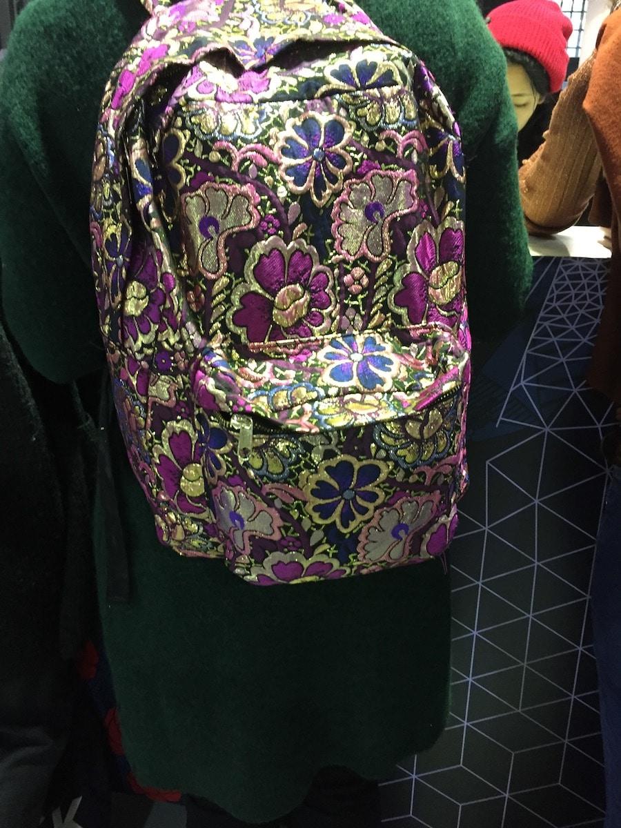 Tasche von Besucherin