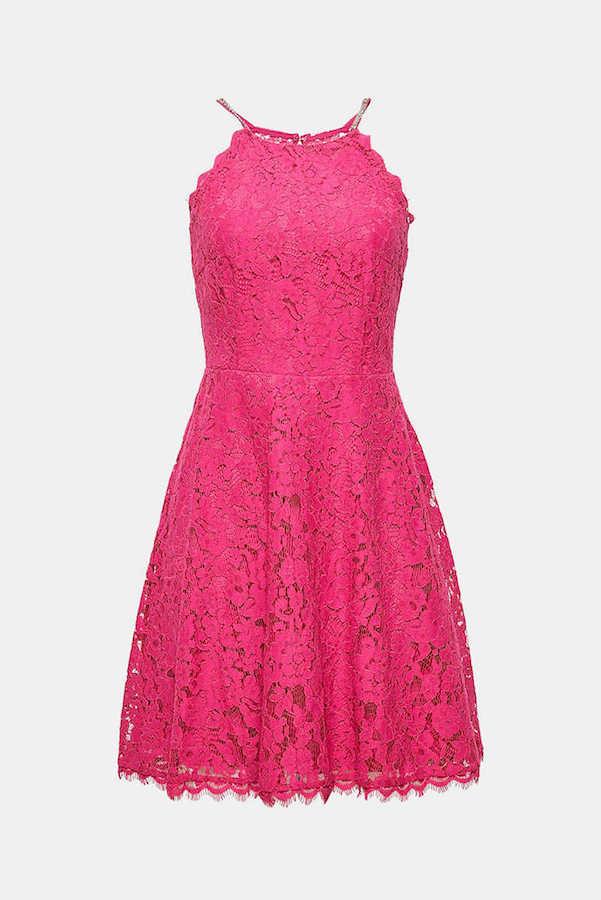 Pinkes Kleid Für V Figur Stilstrategie