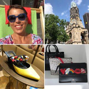 Claudia genießt Berlin