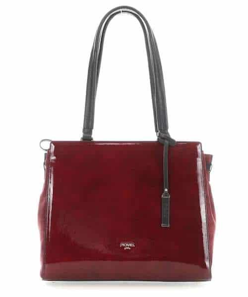 Bordeauxfarbene Tasche Picard