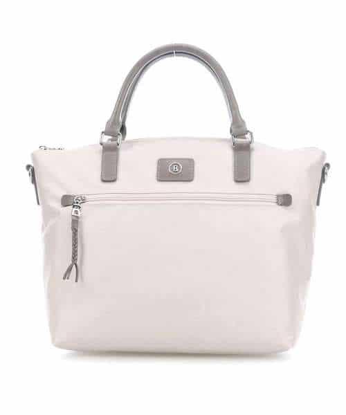 Weiße Tasche Nylon Bogner