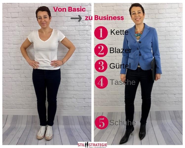 Stil ändern zu Business
