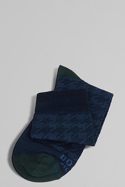 Glencheck Socke