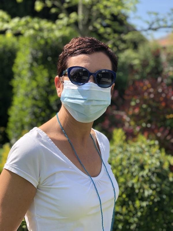 Einweg Mundschutzmaske